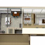 Dollhouse Overview of Kitchen Plan 3 (2)-Design Build Planners