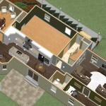 Dollhouse Overview of Kitchen and Master Suite Addition in Franklin Lakes, NJ Plan 1 (1)-Design Build Planners