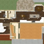 Dollhouse Overview of Kitchen and Master Suite Addition in Franklin Lakes, NJ Plan 1 (2)-Design Build Planners