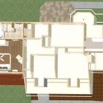 Dollhouse Overview of Kitchen and Master Suite Addition in Franklin Lakes, NJ Plan 1 (4)-Design Build Planners