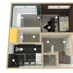 Dollhouse Overview of Lower Level Plan 3 (1)-Design Build Planners