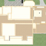 Dollhouse Overview of a Kitchen and Master Suite Addition in Franklin Lakes NJ Plan 2 (4)-Design Build Planners