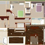 Dollhouse Overview of a Two-Story Addition (1)-Design Build Planners