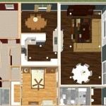 Dollhouse Overview of a Two-Story Addition (2)-Design Build Planners