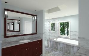 Master Bedroom and Bathroom in Bridgewater NJ CAD (12)-Design Build Planners
