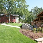 steb garage and house together