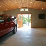 steb garage interior out toward lake