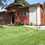 steb side of garage