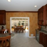 sunroom conservatory as eating area of kitchen in Monmouth County, NJ (1)