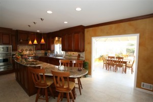 sunroom conservatory as eating area of kitchen in Monmouth County, NJ (2)