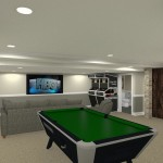 Basement Refinishing in Warren NJ (1)-Design Build Planners