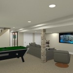 Basement Refinishing in Warren NJ (13)-Design Build Planners