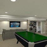 Basement Refinishing in Warren NJ (14)-Design Build Planners