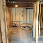 Basement Refinishing in Warren NJ In Progress 1-20-2016 (2)