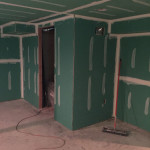 Basement Refinishing in Warren NJ In Progress 4-15-2016 (2)