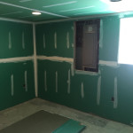 Basement Refinishing in Warren NJ In Progress 4-15-2016 (3)