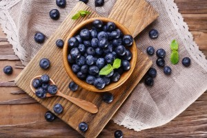 Kale and blueberry smoothie recipe from Organic Gurlz Gardens in Fort Wayne Indiana