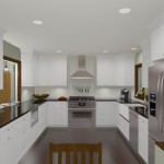 Kitchen and Mud Room Remodel in Mercer County NJ  Plan 1 (5)-Design Build Planners