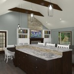 Kitchen and Mud Room Remodel in Mercer County NJ  Plan 3 (4)-Design Build Planners