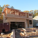 New Home Construction in Cranford NJ In Progress 11-5-15 (2)