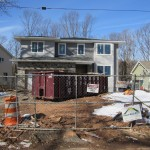 New Home Construction in Cranford NJ In Progress 2-15-2016 (2)