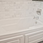 Beveled Marble Subway Tile (5)-Design Build Planners