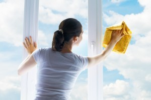 tips for cleaning window glass ~ Design Build Planners
