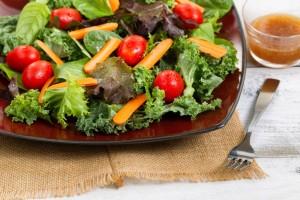 Fresh Garden Salad from Organic Gurlz Gardens Fort Wayne Indiana