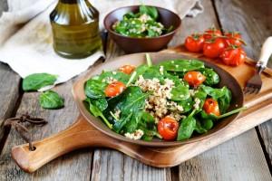 Garden Herb Salad from Organic Gurlz Gardens Fort Wayne Indiana (1)