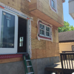Knock Down and Rebuild in Middletown NJ In Progress 5-18-2016 (1)