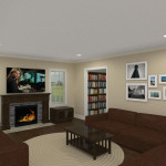 Add A Level and Interior Renovation in Morris County, NJ CAD (7)-Design Build Planners