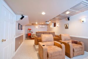 Media Room Remodeling Contractor Monmouth County NJ