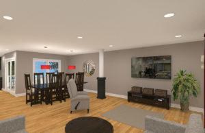 Open Floor Plan Concept CAD (4)-Design Build Planners