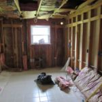 DAY 2 kitchen remodel - demolition and rough electrical work (2)