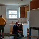 DAY 27 Monmouth County NJ kitchen remodel - start of cabinet installation (10)