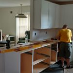 DAY 27 Monmouth County NJ kitchen remodel - start of cabinet installation (7)