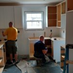 DAY 27 Monmouth County NJ kitchen remodel - start of cabinet installation (8)