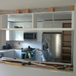 DAY 32 Monmouth County NJ Kitchen Remodel - cabinet installation (4)