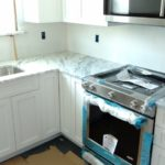 DAY 33 Monmouth County NJ Kitchen Remodel - granite countertop installation (4)