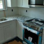 DAY 33 Monmouth County NJ Kitchen Remodel - granite countertop installation (5)