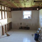 DAY1 dust and debris protection and kitchen demolition (4)