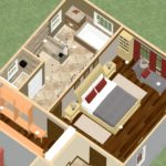 Dollhouse Overview of a Master Suite Addition in Millstone NJ (1)-Design Build Planners