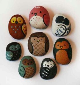 Eco-friendly arts and crafts - pet rock