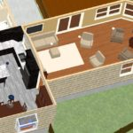 Dollhouse Overview of Kitchen PLUS in Montclair, NJ CAD (1)-Design Build Planners