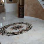 Marble for a Grand Entry Foyer in Warren, New Jersey (5)-Design Build Planners