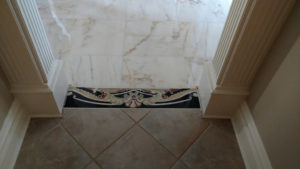Marble for a Grand Entry Foyer in Warren, New Jersey (9)-Design Build Planners