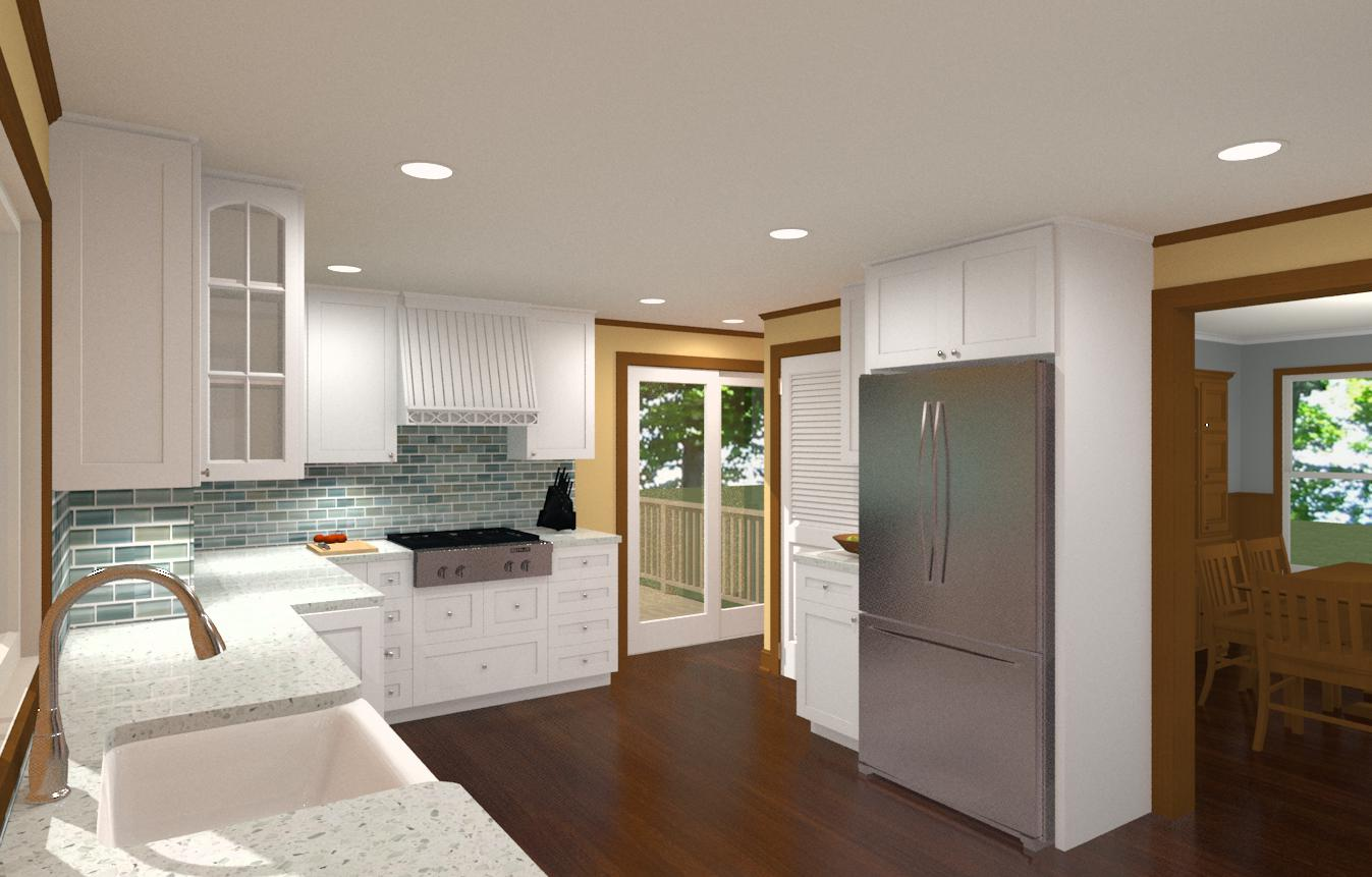 Kitchen Remodel for a 100 Year Old Home - Design Build ...