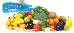 Vitamins and minerals from food