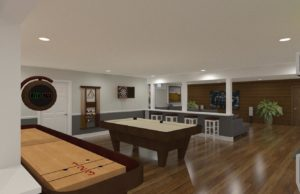 ... NJ Basement Remodel with Residential Elevator ... & Design Build Remodeling Photos and Ideas for Home Renovations