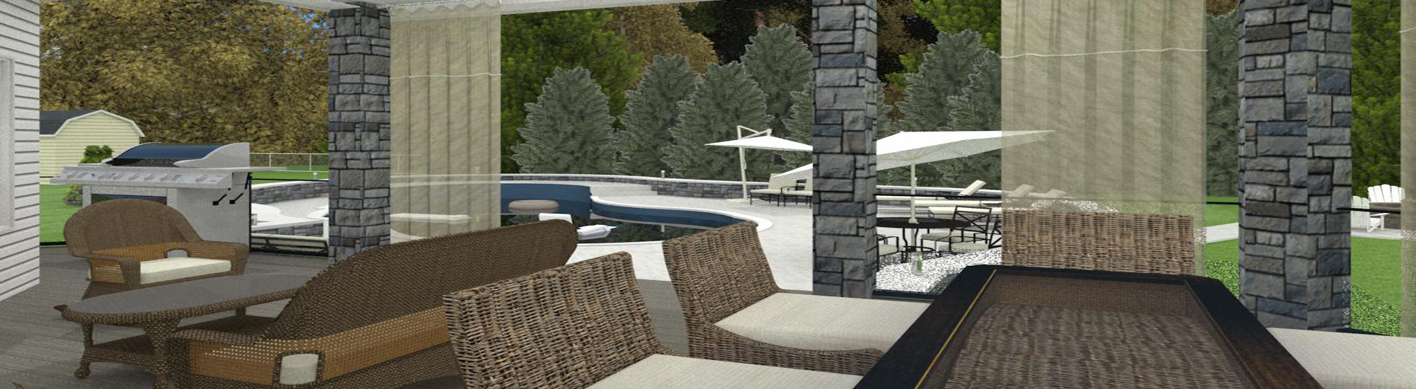 Outdoor Living Space CAD (1)-Design Build Planners